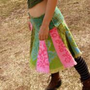 Vintage Towel Skirt